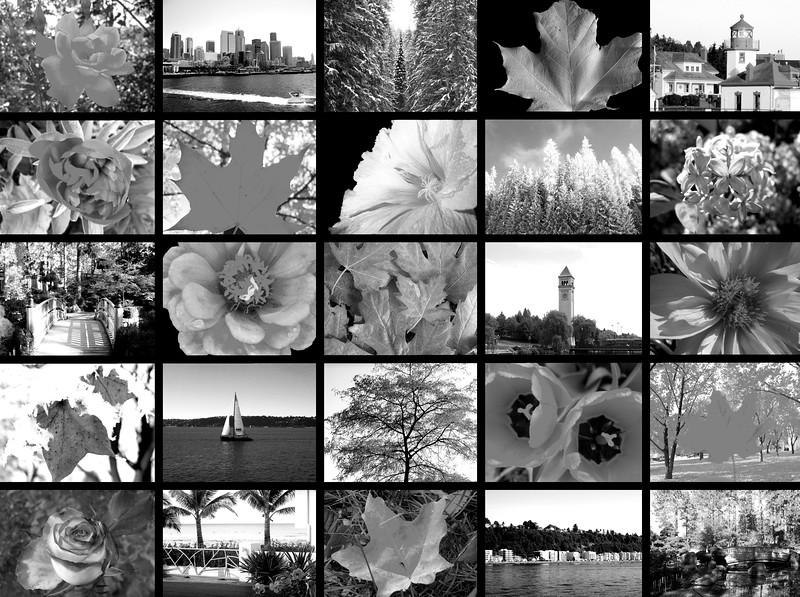 2006-2010 Best Collage B&W