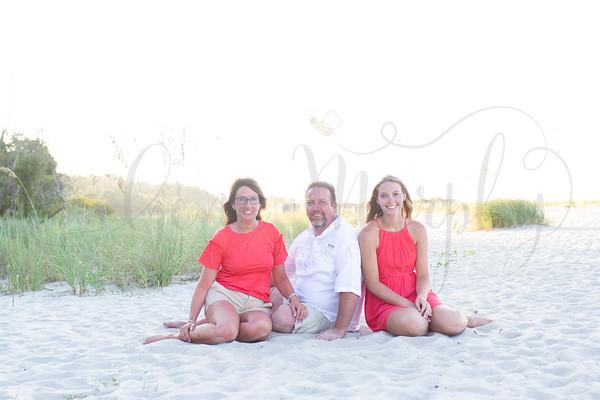 Collard Family- Beach