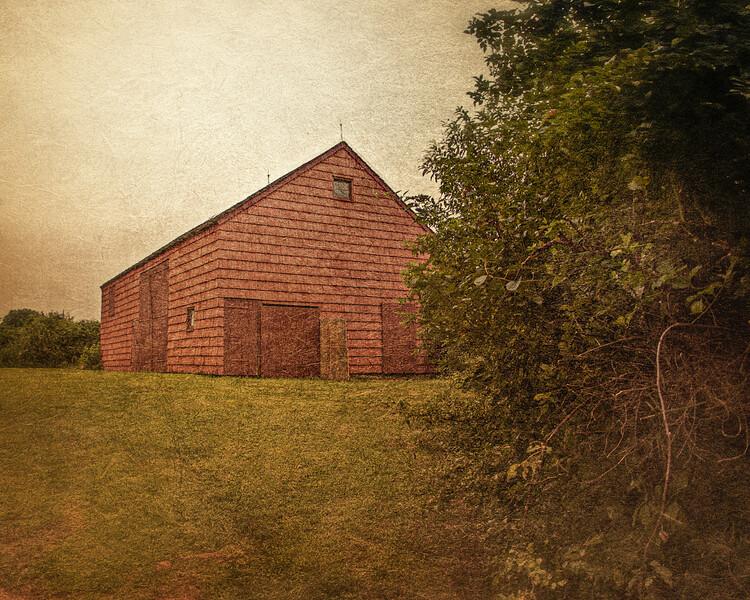 Barn, Hewlett's Farm, Old Bethpage VIllage Restoration, Nassau County, New York