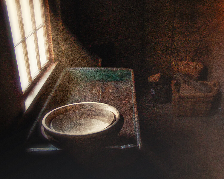 Dry Sink, Old Bethpage Village, Long Island, Nassau County, New York
