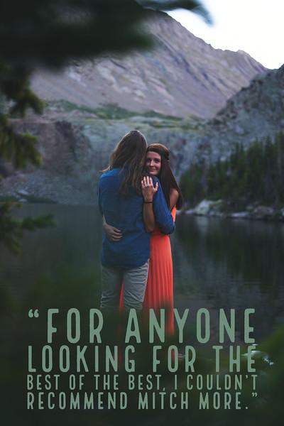 Colorado Rocky Mountains Engagement Photoshoot