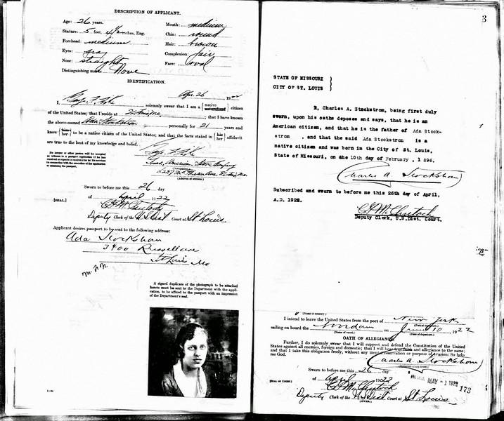 Stockstrom-Ada-Passport-Appl-2May1922-pg2-pg3-M1490-r1942
