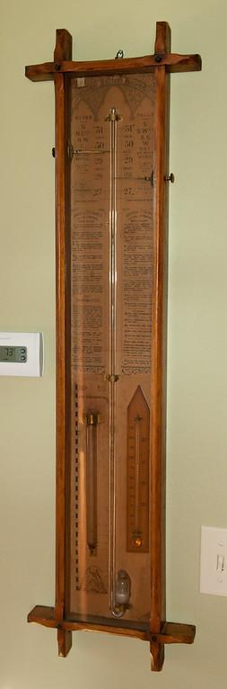 Admiral Fitzroy's Barometer