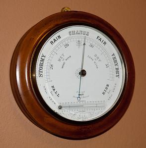 English Aneroid Barometer
