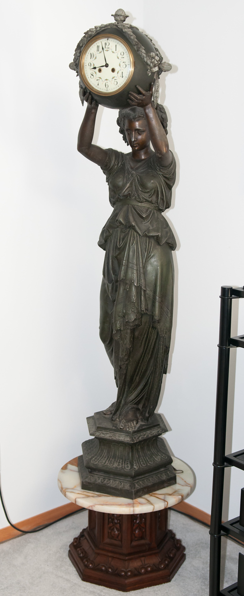 Monumental French Statue