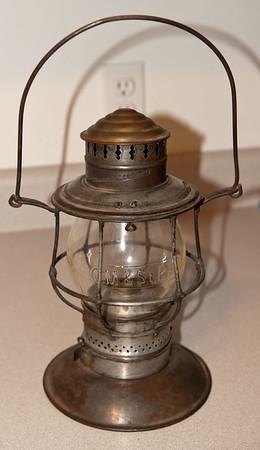 Milwaukee Road Lantern