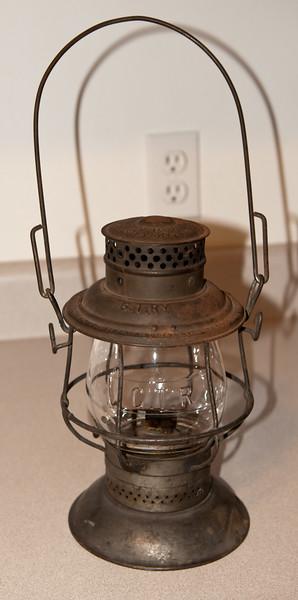 Grand Trunk Railroad Lantern