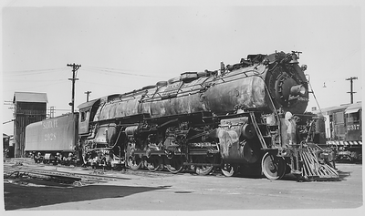 Santa Fe 2928 Steam Engine