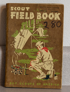 Given to Dale by one of the boy scout leaders. 1954.