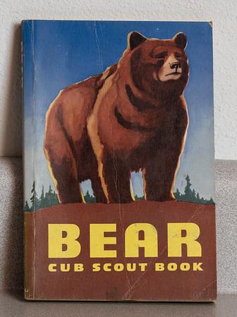Dale's cub scout book. 1970.