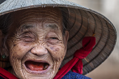 Betel Nut Smile, Tam Hai, South Central Vietnam