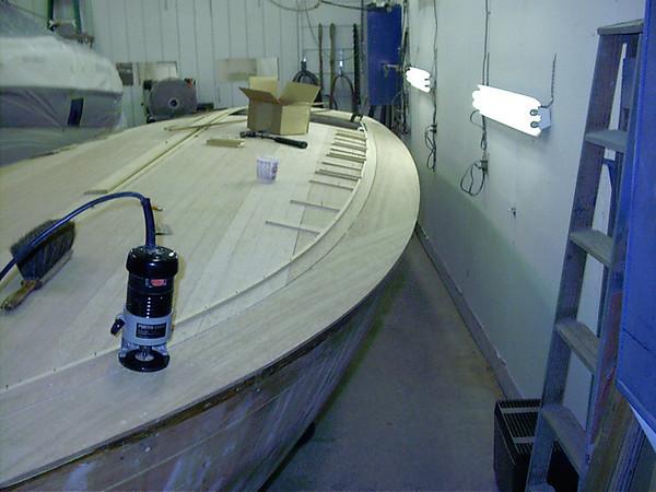 routing deck seams