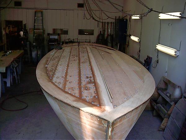 installing deck planks