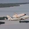 On Wednesday, September 19th Space Shuttle Endeavour took of from the Shuttle Landing Facility at NASA's Kennedy Space Center to begin her journey to California for display. After overnight stays at both Ellington Field in Texas and NASA's Dryden Flight Research Center, Endeavour would land for the final time at Los Angeles International Airport on September 21, 2012.