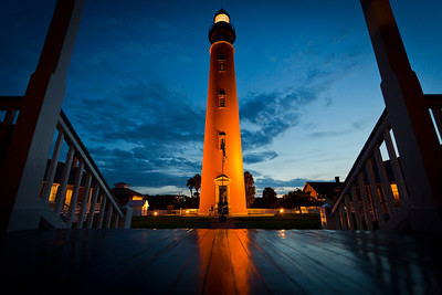 Located in Ponce Inlet, Florida the Ponce De Leon Inlet Lighthouse is the tallest lighthouse in Florida at 175 ft.