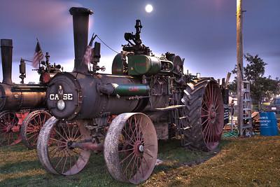 Nightfall at Steam Engine Days