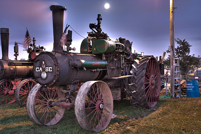 Nightfall at Steam Engine Days
