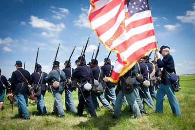 Civil War Days in Wasioja, Minnesota