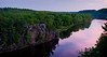 View over the St Croix River into Wisconsin