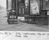 SK378860B, Man marking Ordnance Survey minor control revision point with an arrow in 1940s Sheffield