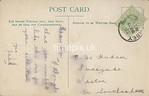 FGOS_00980r, Reverse of Edwardian postcard of Beaulieu church by FGO Stuart.