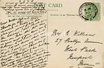 FGOS_01337r, Reverse of Edwardian postcard of Netley Southampton by FGO Stuart, posted in April 1907