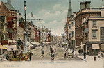 FGOS_01057, Edwardian postcard of The High Street, Southampton by FGO Stuart posted in 1909