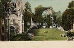 FGOS_00654, Edwardian postcard of Netley Abbey by FGO Stuart