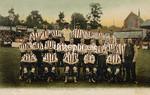 FGOS_Saints1905, Edwardian postcard of Southampton Football Team by FGO Stuart