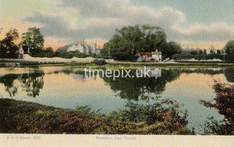 FGOS_01561, Edwardian postcard of view to Palace House by FGO Stuart