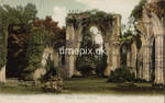 FGOS_00891, Edwardian postcard of Netley Abbey by FGO Stuart
