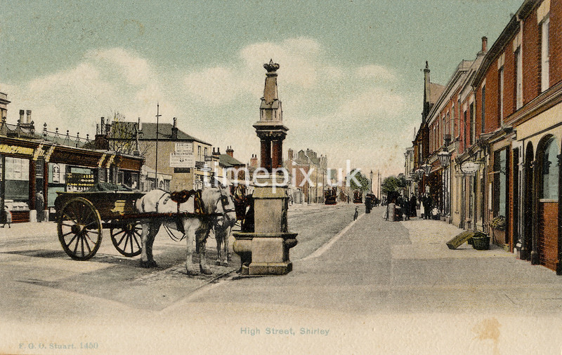 FGOS_01450, Edwardian postcard of Shirley, Southampton by FGO Stuart
