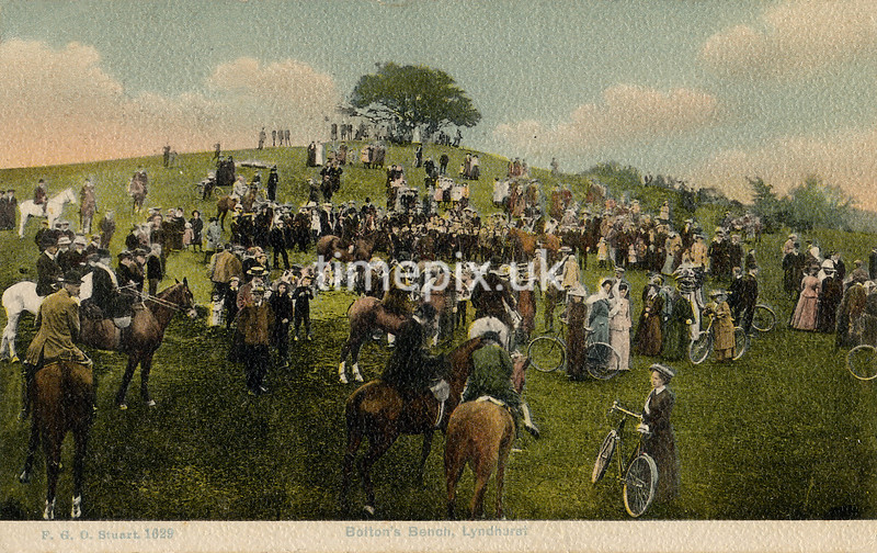 FGOS_01629, Postcard of Lyndhurst, Hampshire, by FGO Stuart posted in 1914