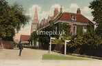 FGOS_01438, Edwardian postcard of Lyndhurst, Hampshire, by FGO Stuart, posted in 1909