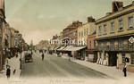 FGOS_00937b, Edwardian postcard of High Street, Lymington by FGO Stuart