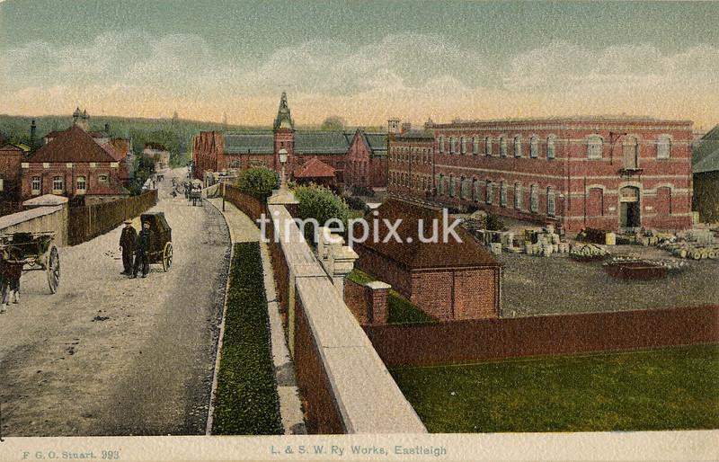 FGOS_00993, Edwardian postcard of Eastleigh by FGO Stuart c1905