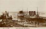 FGOS_02123, Postcard of ships at Southampton by FGO Stuart