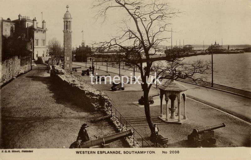 FGOS_02038, Edwardian postcard of Southampton by FGO Stuart