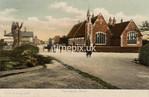 FGOS_01223, Edwardian postcard of a school at Pennington, near Lymington by FGO Stuart