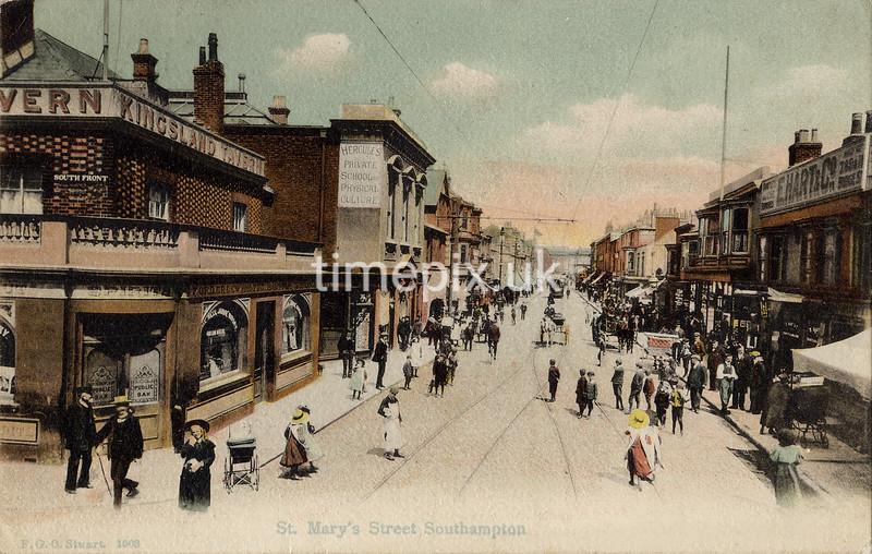 FGOS_01003, Edwardian postcard of Southampton by FGO Stuart c1905