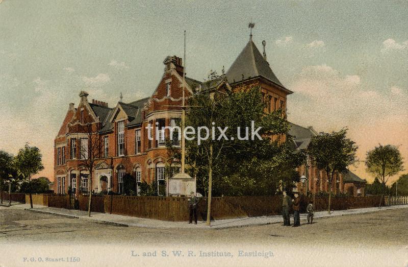 FGOS_01150, Edwardian postcard of Eastleigh by FGO Stuart posted 1910
