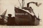 FGOS_02155, Edwardian postcard of the floating dry-dock, Southampton by FGO Stuart