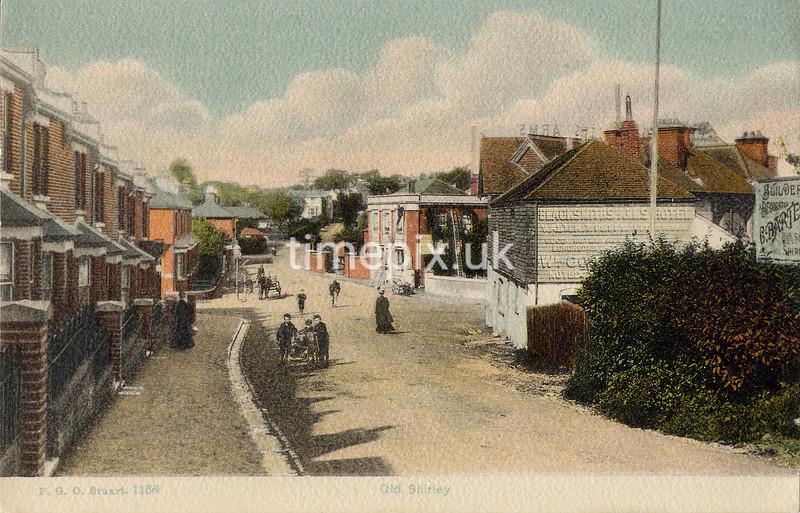 FGOS_01166b, Edwardian postcard of Shirley, Southampton by FGO Stuart
