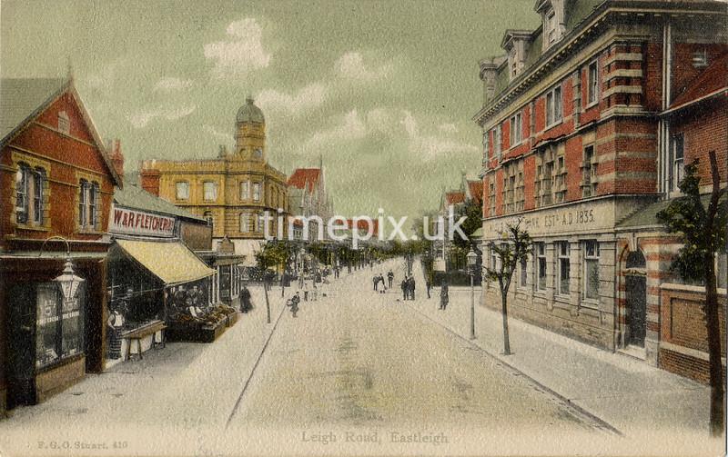 FGOS_00410, Edwardian postcard of Eastleigh by FGO Stuart c1905