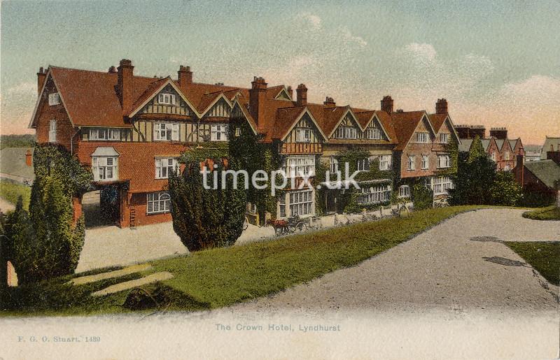 FGOS_01439, Edwardian postcard of Lyndhurst, Hampshire, by FGO Stuart c1905
