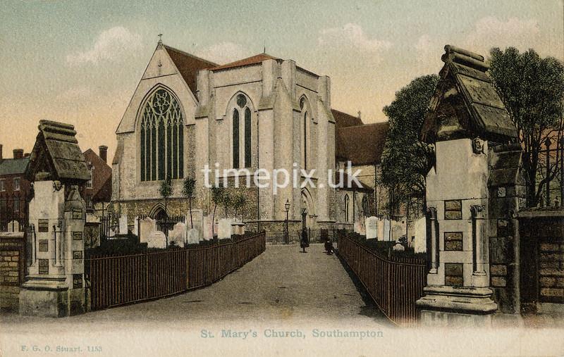 FGOS_01153, Edwardian postcard of Southampton by FGO Stuart c1905