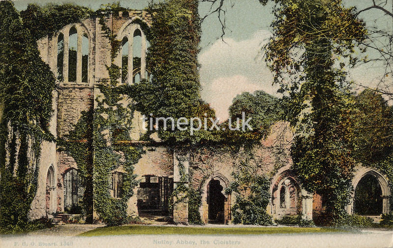 FGOS_01340, Edwardian postcard of Netley Abbey by FGO Stuart