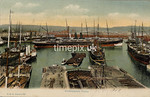 FGOS_00889, Edwardian postcard of Southampton Docks by FGO Stuart c 1905