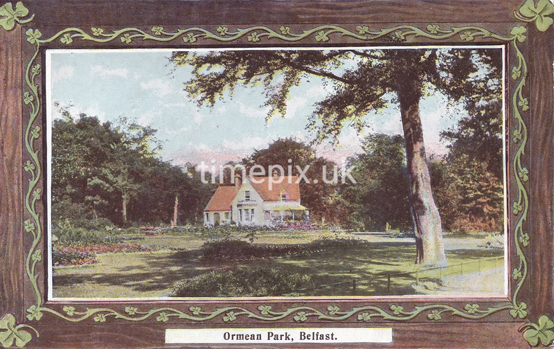 PC_Johnstone_1A, Edwardian postcard of Ormean (Ormeau) Park, Belfast by J Johnstone