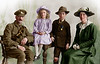 WW1 Dad's going to war. Family photo for which no one can muster up a smile